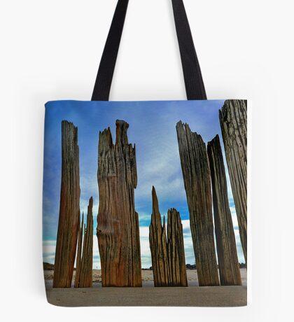 Fort Tilden Driftwood5 Tote Bag