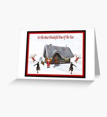 It's The Most Wonderful Time Of The Year! Greeting Card