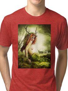 Deer Woman Tri-blend T-Shirt