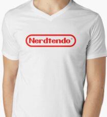 Nerdtendo Men's V-Neck T-Shirt