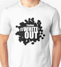 #Whiteout (Inverse) Unisex T-Shirt