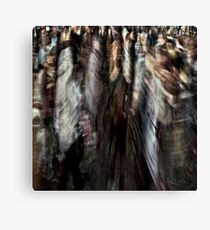 crowded Canvas Print