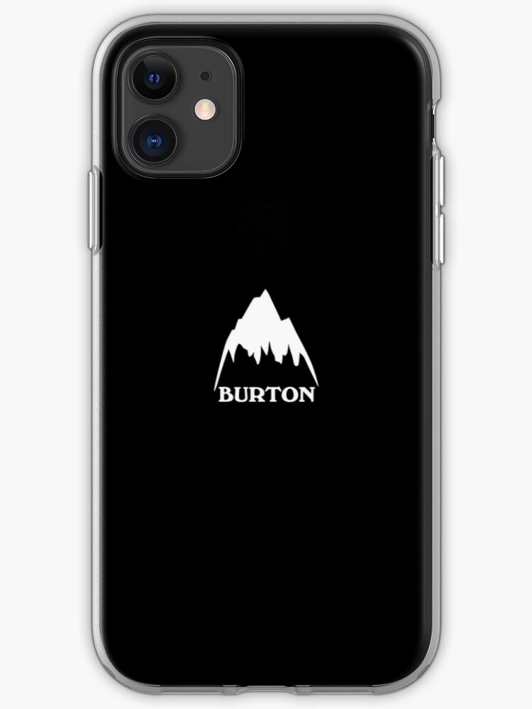 Burton snowboards logo iphone case
