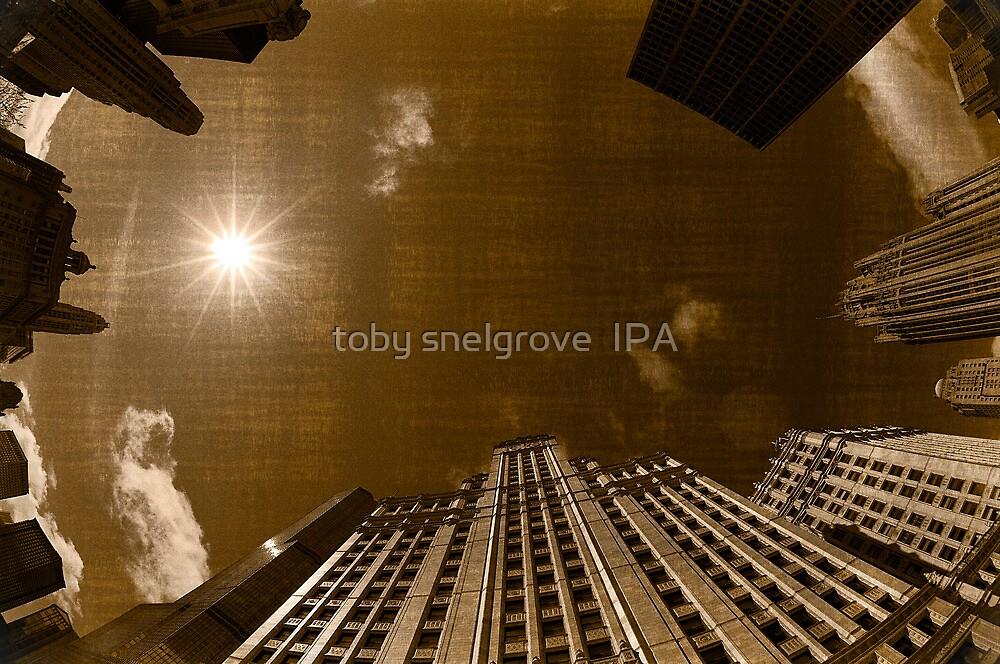 Looking Up, Downtown Chicago by toby snelgrove  IPA