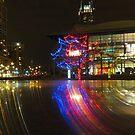 Christmas lights by Alinka
