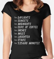 Seasons of love Women's Fitted Scoop T-Shirt