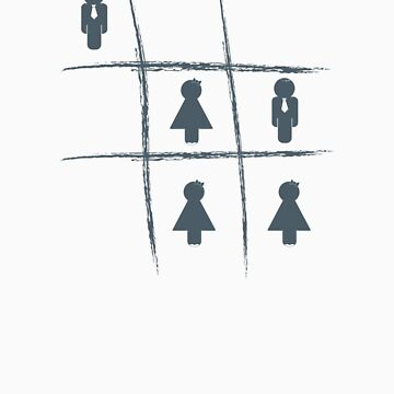 Noughts & Crosses (boys) by RedCreative