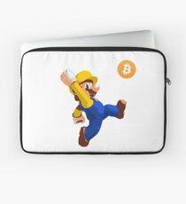 Mario Bitcoin Laptop Sleeve