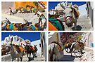 Donkey Train by Emma Holmes