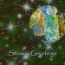 Greeting card Christmas by Marlies Odehnal