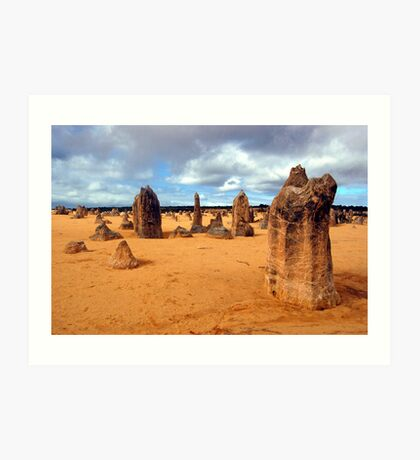 The Pinnacles, Nambung National Park, Western Australia Art Print