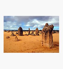 The Pinnacles, Nambung National Park, Western Australia Photographic Print