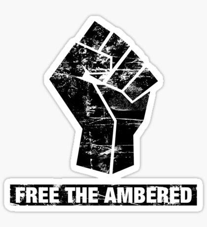FREE THE AMBERED Sticker