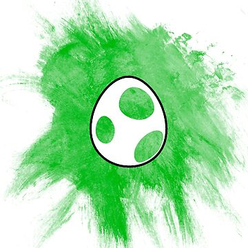Yoshi Egg by BradBailey