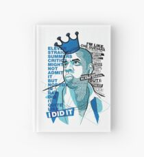 Jay-Z Eleven Straight Summers Hardcover Journal