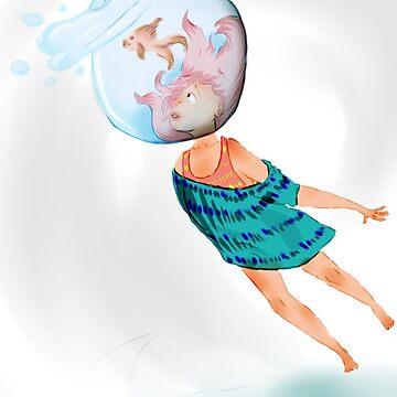 She's In Water by TheKillerOpekui