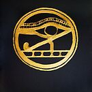 The Eye Of Horus by Barbie Hardrock