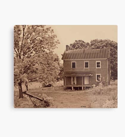 Vervilla Stagecoach House Metal Print