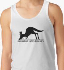 Kangaroo Hates Pushups Tank Top