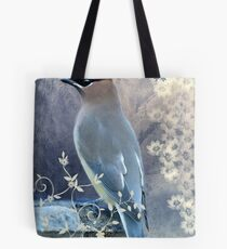 Cedar Waxwing, Poised and Pretty Tote Bag