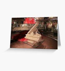 The Piano Man Greeting Card