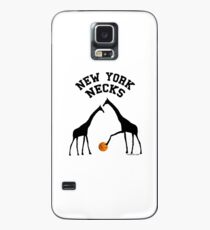 New York Necks (for light-colored shirts) Case/Skin for Samsung Galaxy