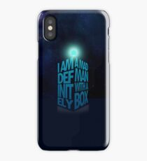 A Madman With a Box iPhone Case iPhone Case