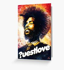 Questlove Greeting Card