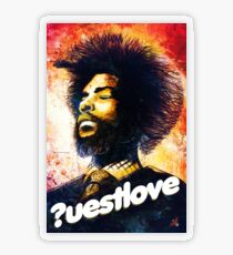 Questlove Transparent Sticker