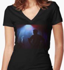 Timespace - James Pratt Women's Fitted V-Neck T-Shirt