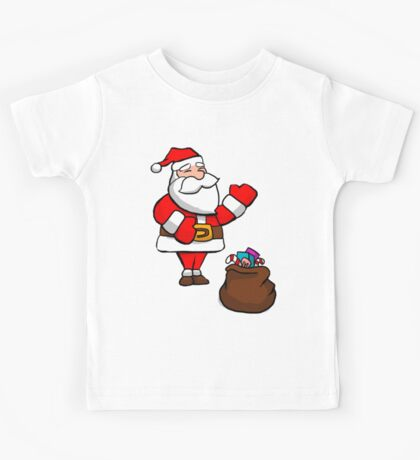 Cute Christmas Santa Kids Clothes