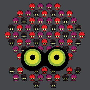 Splatoon Inspired: Octoling made of Octoling by kajatta