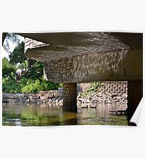 Reflection Under the Bridge Poster