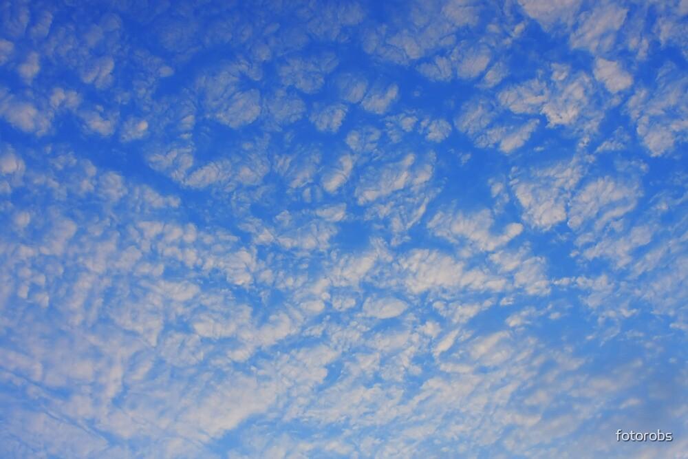 Background of blue sky. by fotorobs