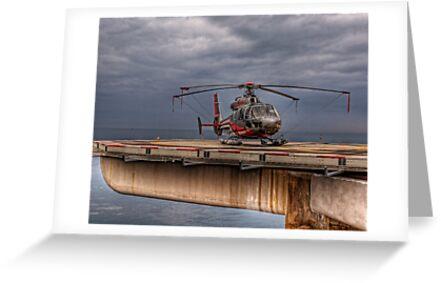 The Heliport in Monaco by NeilAlderney