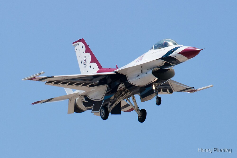 Head On with USAF Thunderbird 7 by Henry Plumley