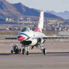 USAF Thunderbird #1 Parking by Henry Plumley