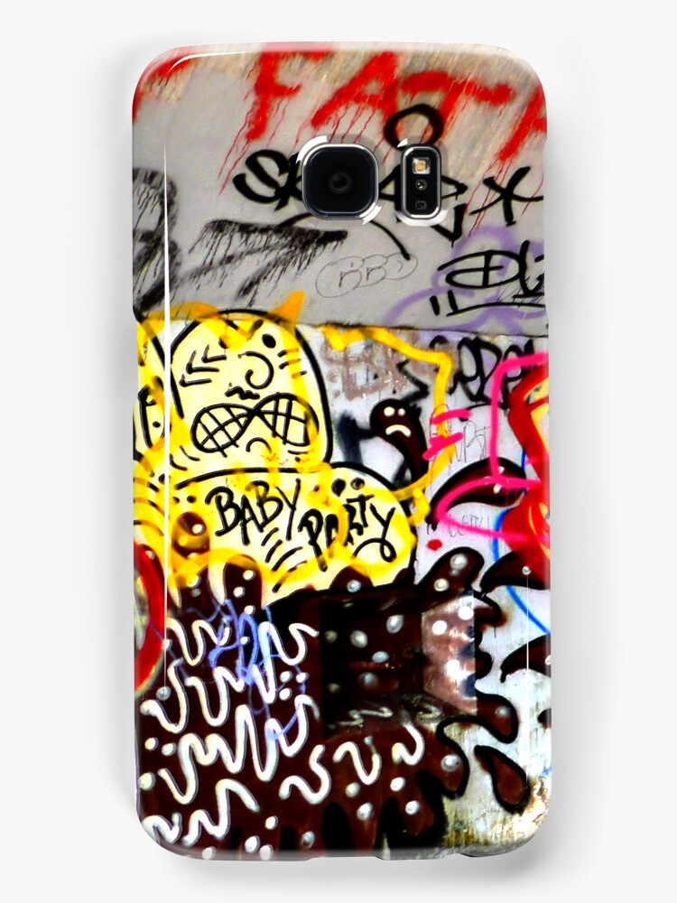 Graffiti New York City iphone case by andytechie