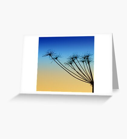 Supporting the sky Greeting Card