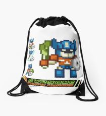 Happy heroes - happymusprime Drawstring Bag