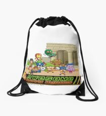 Happy heroes - all hero Drawstring Bag