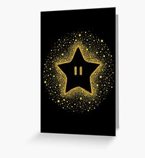 Invincible Starburst Greeting Card