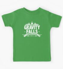 Camp Gravity Falls  Kids T-Shirt