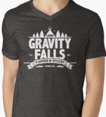Camp Gravity Falls  Men's V-Neck T-Shirt
