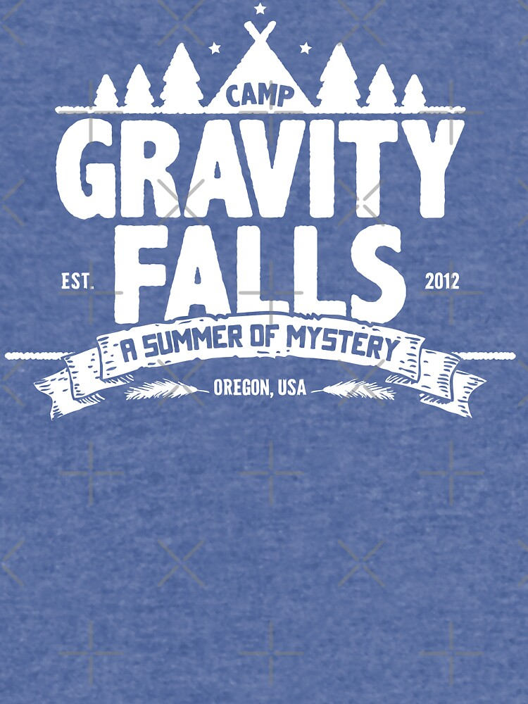 Camp Gravity Falls de KRDesign