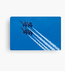 Blue Angels Diamond Loop Canvas Print