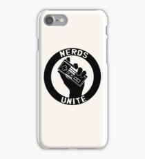 NES NERDS UNITE! iPhone Case/Skin