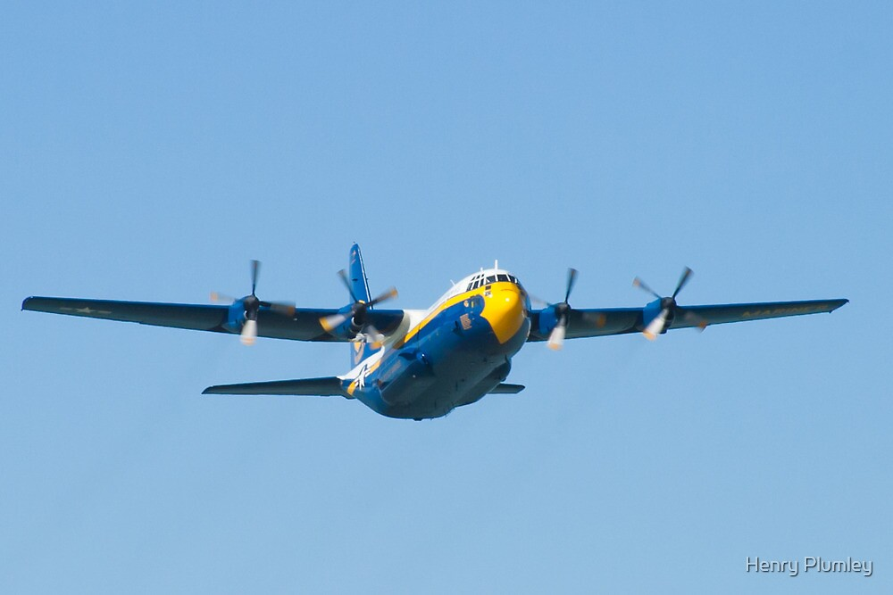 Blue Angels Fat Albert Head On by Henry Plumley