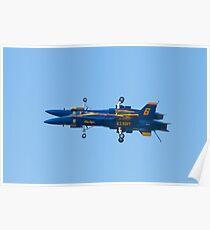 Blue Angels Fortus Poster