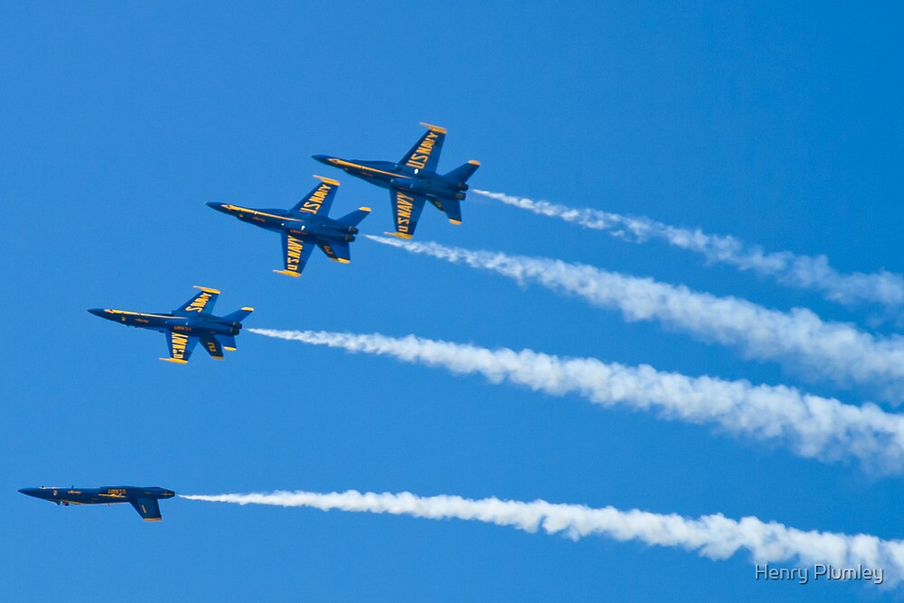 Blue Angels Inverted Tuck Over Roll by Henry Plumley